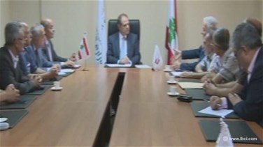 Minister Azzi meets with MP Pakradounian, discusses Bourj...