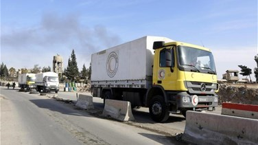 Aid reaches all besieged areas of Syria with latest delivery...