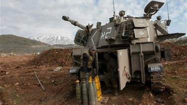 Israeli military says attacked two Syrian army targets