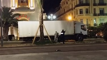 Video shows moment French police shot truck driver who killed...