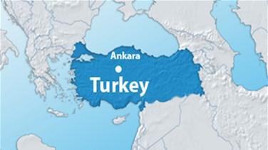 Fire in residential building in Turkey's Ankara under...