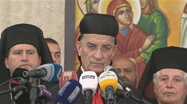 REPORT: Patriarch Rai from al-Qaa: Nothing protects Lebanon but...