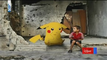 REPORT: Syrian Children Hold Pokemon Pictures In Plea To Be Saved