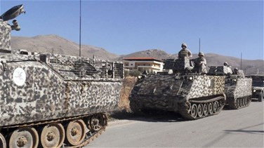 Lebanese Army patrols spread through Arsal