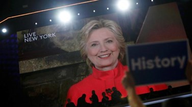 REPORT: Democrat Clinton makes history with US presidential...