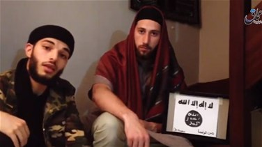 [VIDEO] Islamic State posts video of men it says were French...