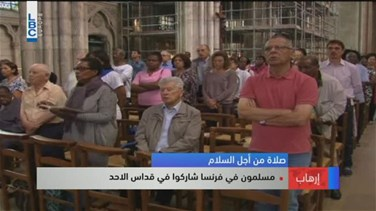 REPORT: Muslims attend Catholic mass in solidarity after French...