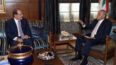 Minister Azzi holds talks with Speaker Berri
