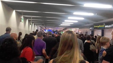 Frankfurt airport departure hall evacuated after passenger...
