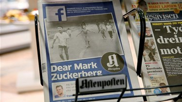 "REPORT: Norway's PM attacks Facebook ""censorship""..."