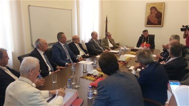 Patriarch Rai chairs meeting for economic bodies in Bkerke