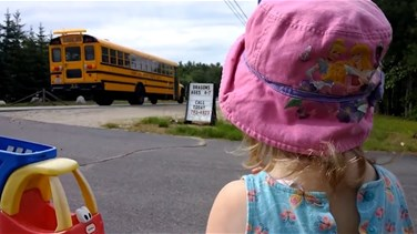 Heart-Wrenching Video Shows Toddler Sobbing as She Watches Her Siblings Go to School
