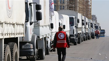 UN resumes Syria aid delivery with convoy to besieged area