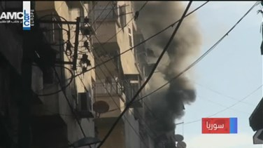 REPORT: Fierce air strikes on Aleppo after Syrian army declares...
