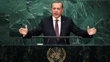 Turkey's Erdogan says U.S. sent weapons to Kurdish fighters...