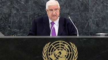 Syria says belief in victory in war against terrorism 'even...