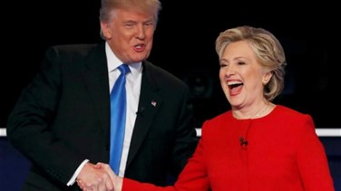 [PHOTOS] Clinton, Trump clash over race, experience in first debate