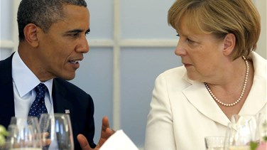 Obama, Merkel condemn Russian, Syrian air strikes in Aleppo...