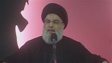 Nasrallah makes public appearance, says region to witness...