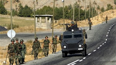 Three Turkish soldiers, four PKK militants killed in clashes