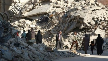 Syrian army says takes Aleppo district, rebels say battle...