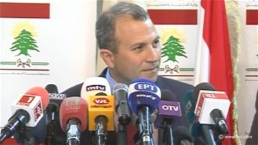 Bassil says Lebanon, Cyprus and Greece seek to boost...