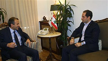 MP Gemayel meets with Minister Bassil, says Kataeb will stand by...