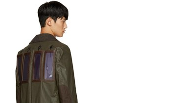 Designer Creates Solar Powered Coat That Charges Your Phone