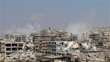 REPORT: Syrian government drives rebels from swathe of Aleppo