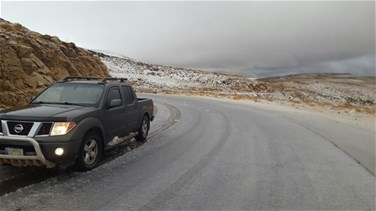 [PHOTOS] Lebanese mountains covered in snow
