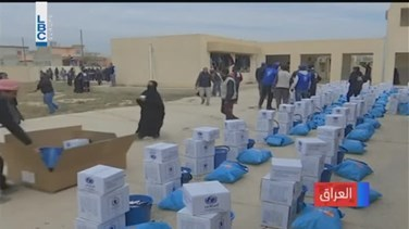 REPORT: Thousands queue for UN aid in Mosul