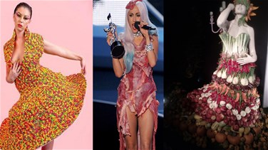 [PHOTOS] 9 Bizarre Occasions Where Food Turned Into Fashion
