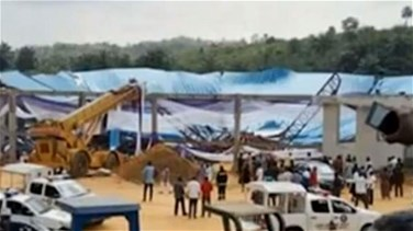 More than 100 killed in church collapse in Nigeria...