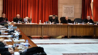 "Maronite bishops call for drafting a ""fair vote law,"" addressing..."
