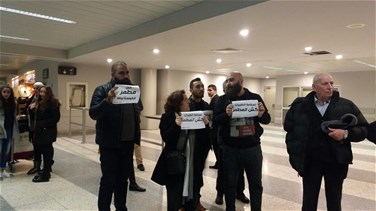 VIDEO: 'You Stink' activists stage protest at Beirut airport