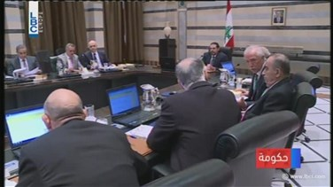 REPORT: PM Hariri says government's priority is to hold...