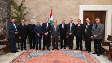 REPORT: President Aoun says parliamentary elections will be held...