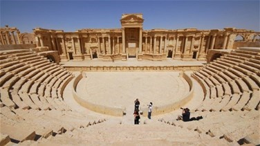 Islamic State destroys famous monument in Syria's Palmyra -...