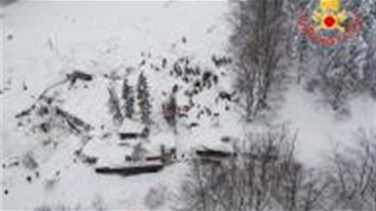 Italy avalanche death toll rises to five, four more survivors...