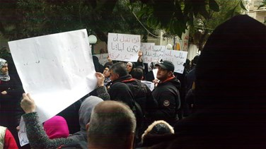Families of detainees over Abra incidents stage sit-in in Sidon
