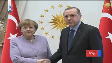 REPORT: Merkel presses Turkey's Erdogan to uphold freedom of...