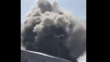 VIDEO: Kuwait's new opera house catches fire