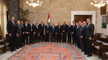President Aoun says new electoral law will be passed,...