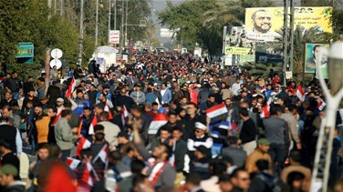 REPORT: Iraqi policeman killed in clashes with pro-Sadr...