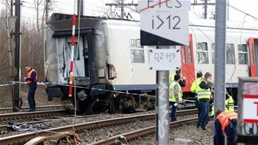 Related News - One killed, 20 hurt as train derails in Belgium