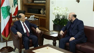 Minister Riachy briefs Aoun on media situation in Lebanon