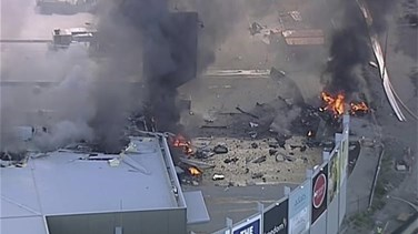 Related News - [VIDEO] Five die as light plane crashes into mall in Australia