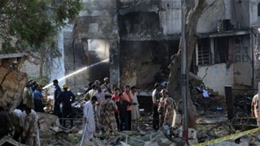 Suicide bombers hit court in Pakistan, at least four killed -...