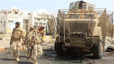 Suicide bomber kills at least 8 soldiers in Yemen's Zinjibar