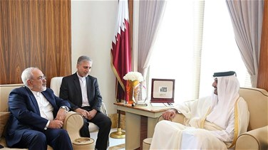 Iran's foreign minister meets Qatar's ruler in Doha